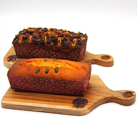 王様ケーキとラムミックスケーキ