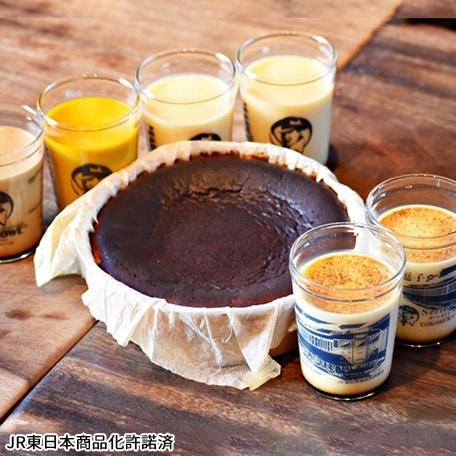 【113系車両】おすすめプリンとバスクチーズケーキ