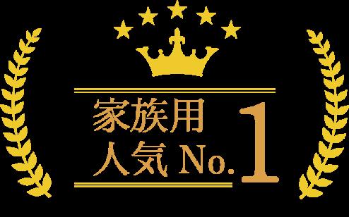 家族用 人気No.1