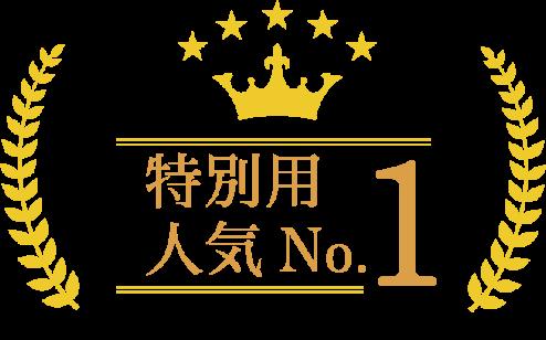 特別用 人気No.1