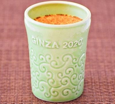 2020年GINZA SIX店限定陶器(唐草) フレッシュクリームプリン