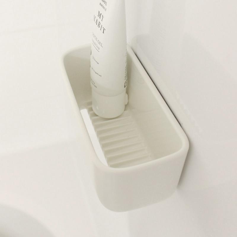 マグネット浴室小物入れ  W618