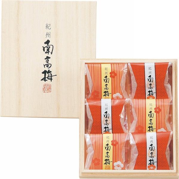 紀州南高梅6粒(木箱入)