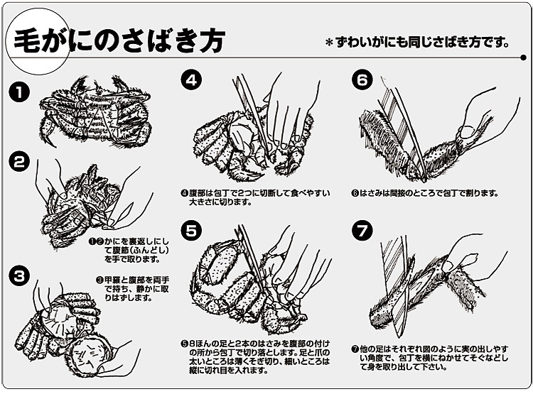 蟹通販業者がお薦めするレシピ紹介!蟹の食べ方剥き方も紹介!