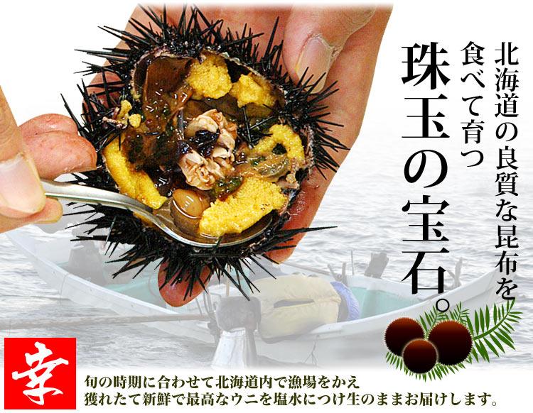 北海道の良質な昆布を食べて育ちました。