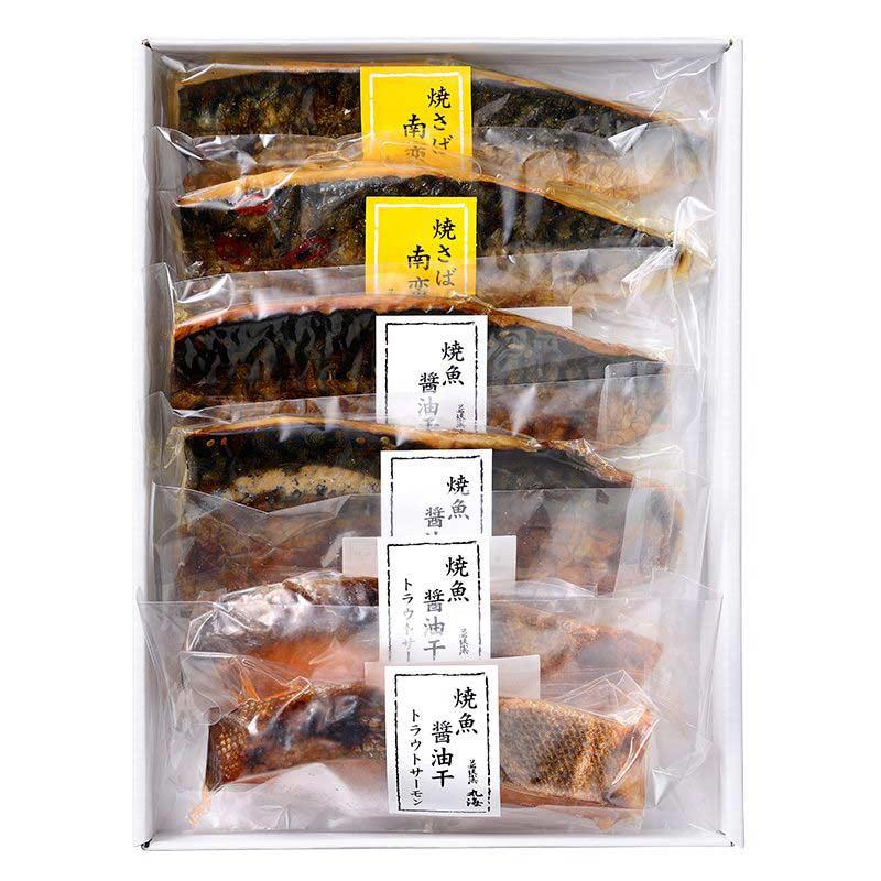 焼さば南蛮漬・焼魚醤油干セット