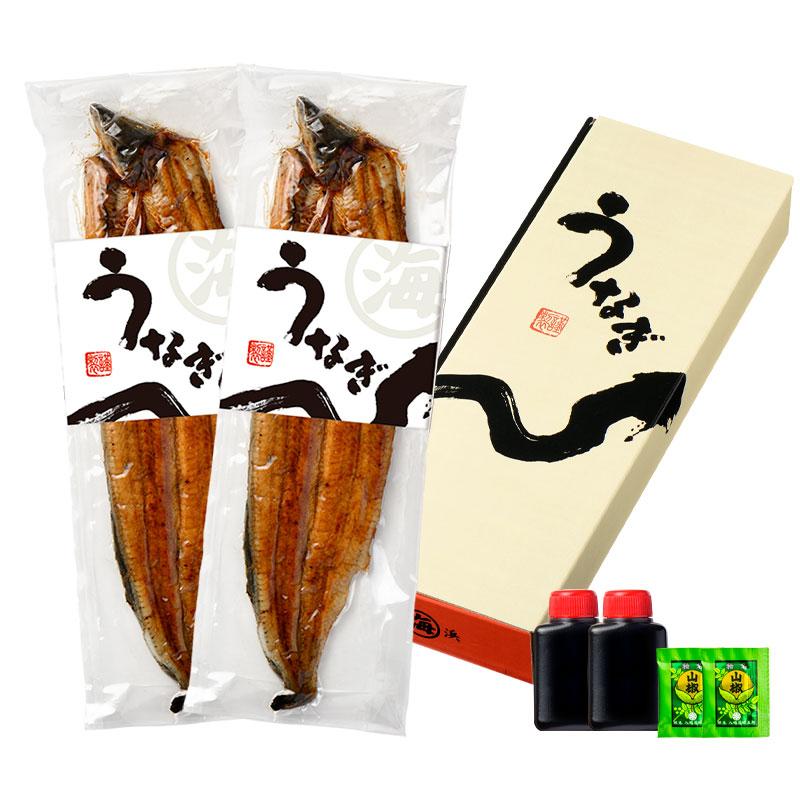 愛知県 三河一色産 うなぎ蒲焼き 2尾