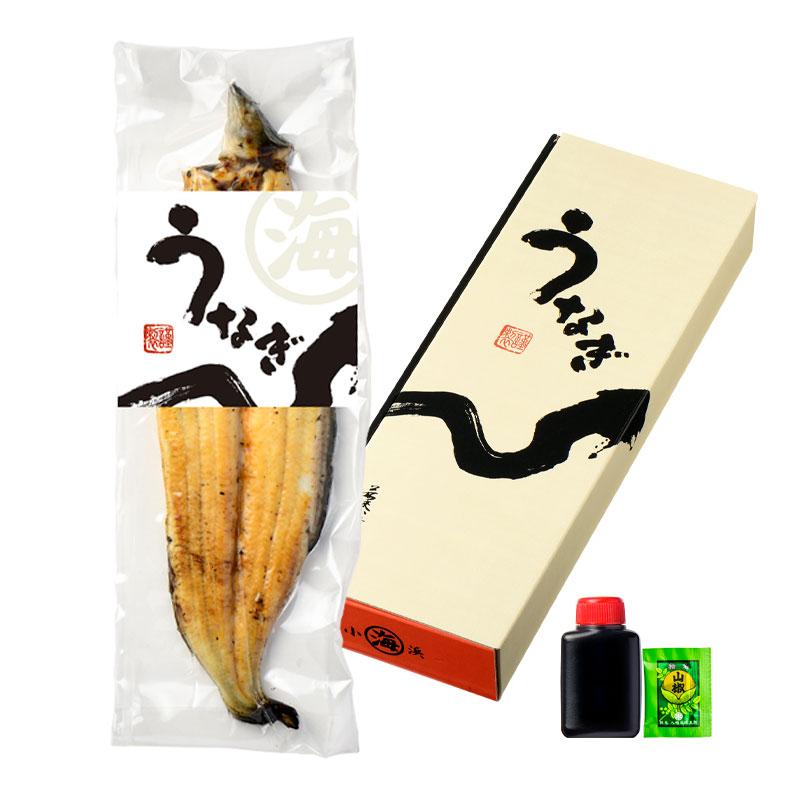 愛知県三河一色 うなぎ 白焼き 1尾