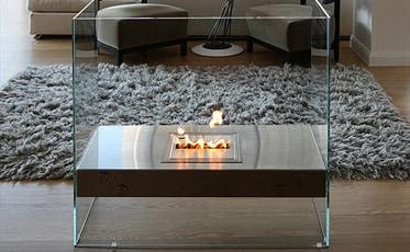 エコスマートファイヤー バイオエタノール暖炉