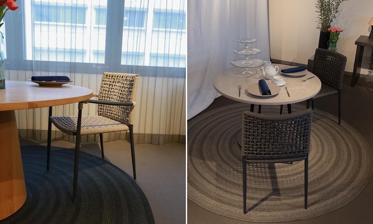 食卓椅子としても使える Sereno(セレーノ)チェア