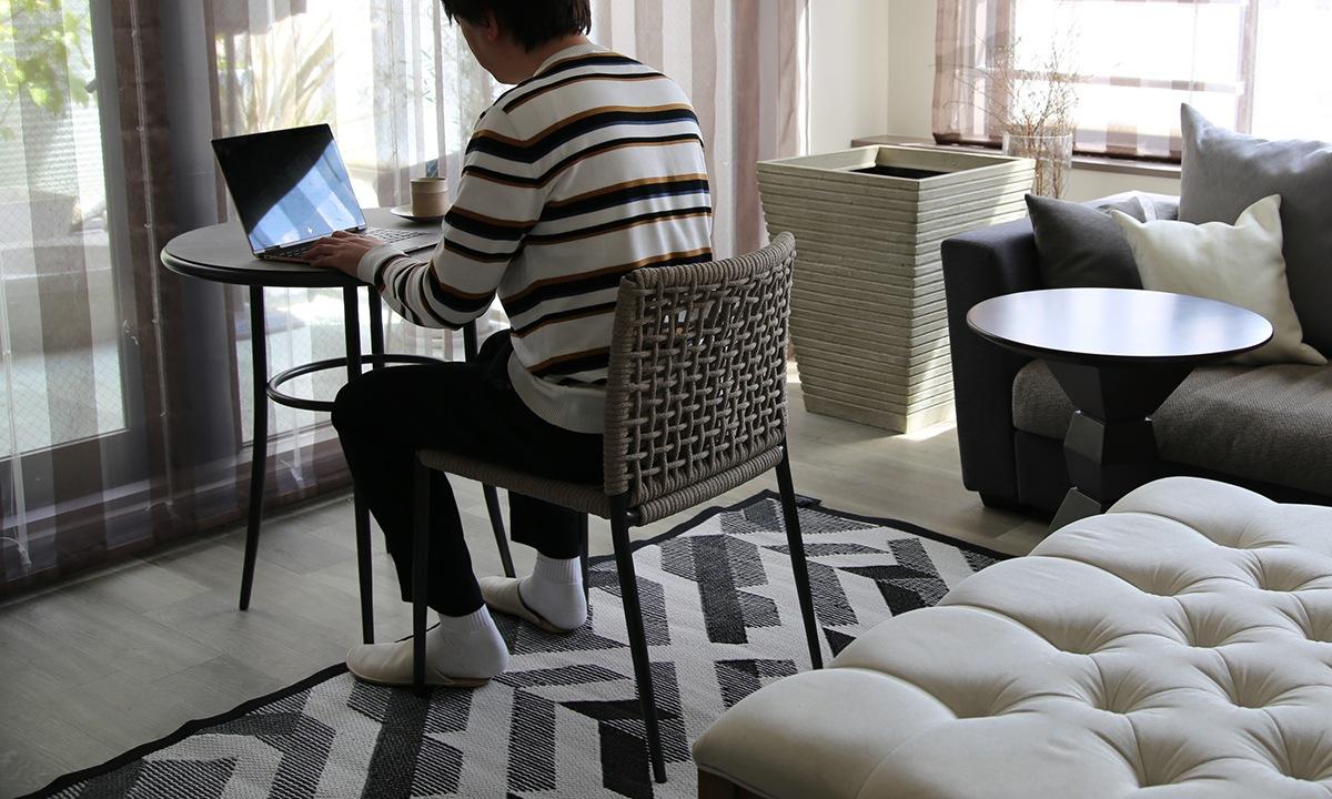 在宅勤務用の椅子