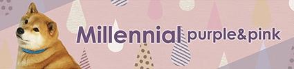 Millennial purple&pink