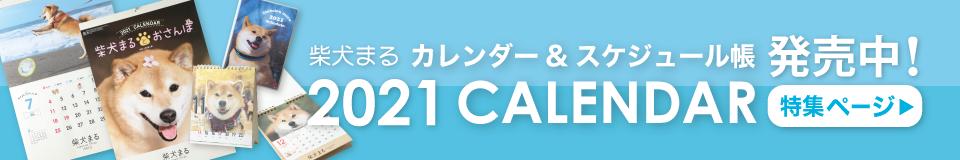 柴犬まるカレンダー2021