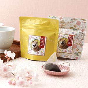 柴犬まる子の和紅茶