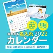 柴犬まる企業カレンダー