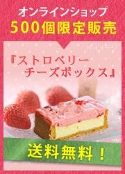 【数量限定】ストロベリーチーズボックス【送料無料】