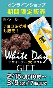 【期間限定】ホワイトデーギフト