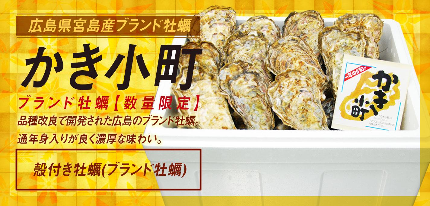 宮島最高級品牡蠣かき小町