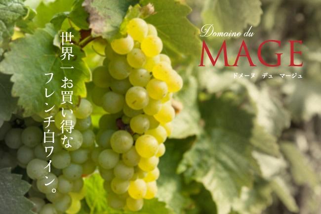 ドメーヌ デュ マージュ — 世界一お買い得なフレンチ白ワイン。