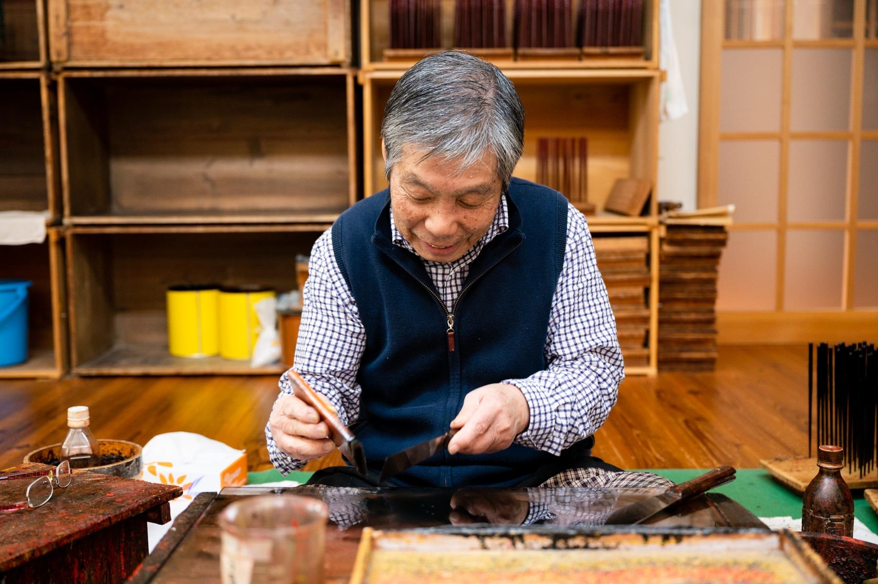 伝統工芸士 古井正弘 若狭塗箸 若狭塗 夫婦箸 箸ギフト 伝統的工芸品