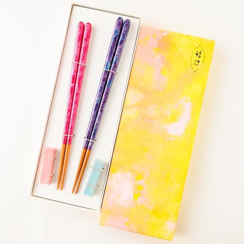 筆描き 絵筆 手描き 箸 名入れ 箸