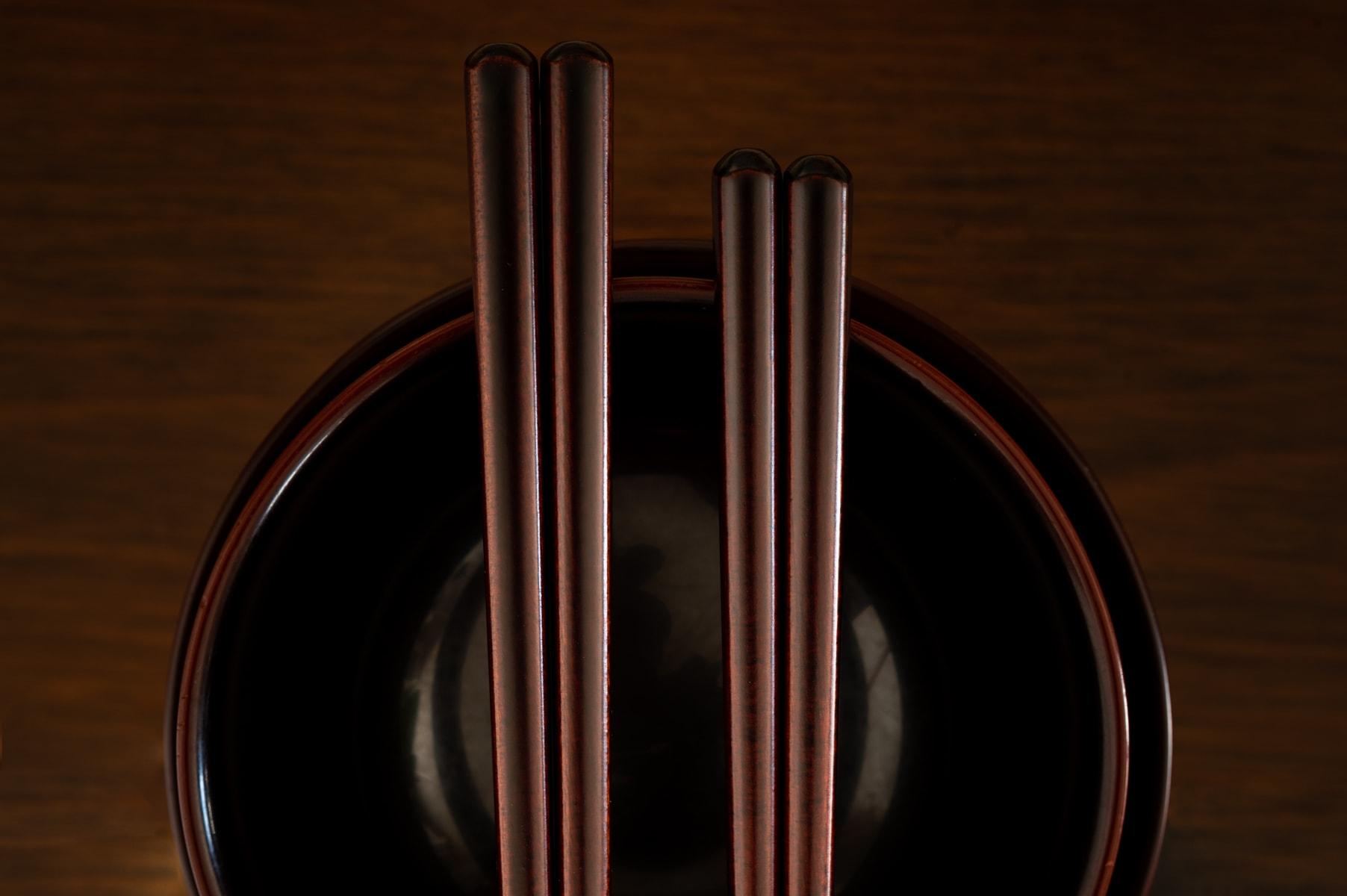 漆のお箸のお手入れ方法