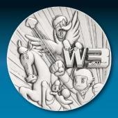 手塚治虫 純銀製50mmメダル W3