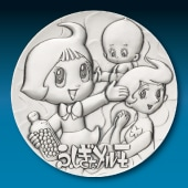 手塚治虫 純銀製50mmメダル ふしぎなメルモ