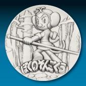 手塚治虫 純銀製50mmメダル ぼくのそんごくう