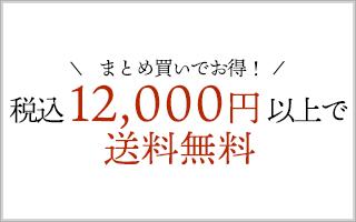 税込12,000円以上で送料無料