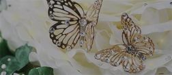 蝶々のオブジェ