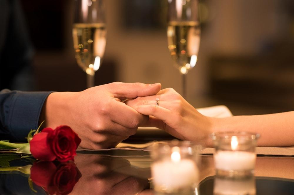 年上彼女へのプロポーズ
