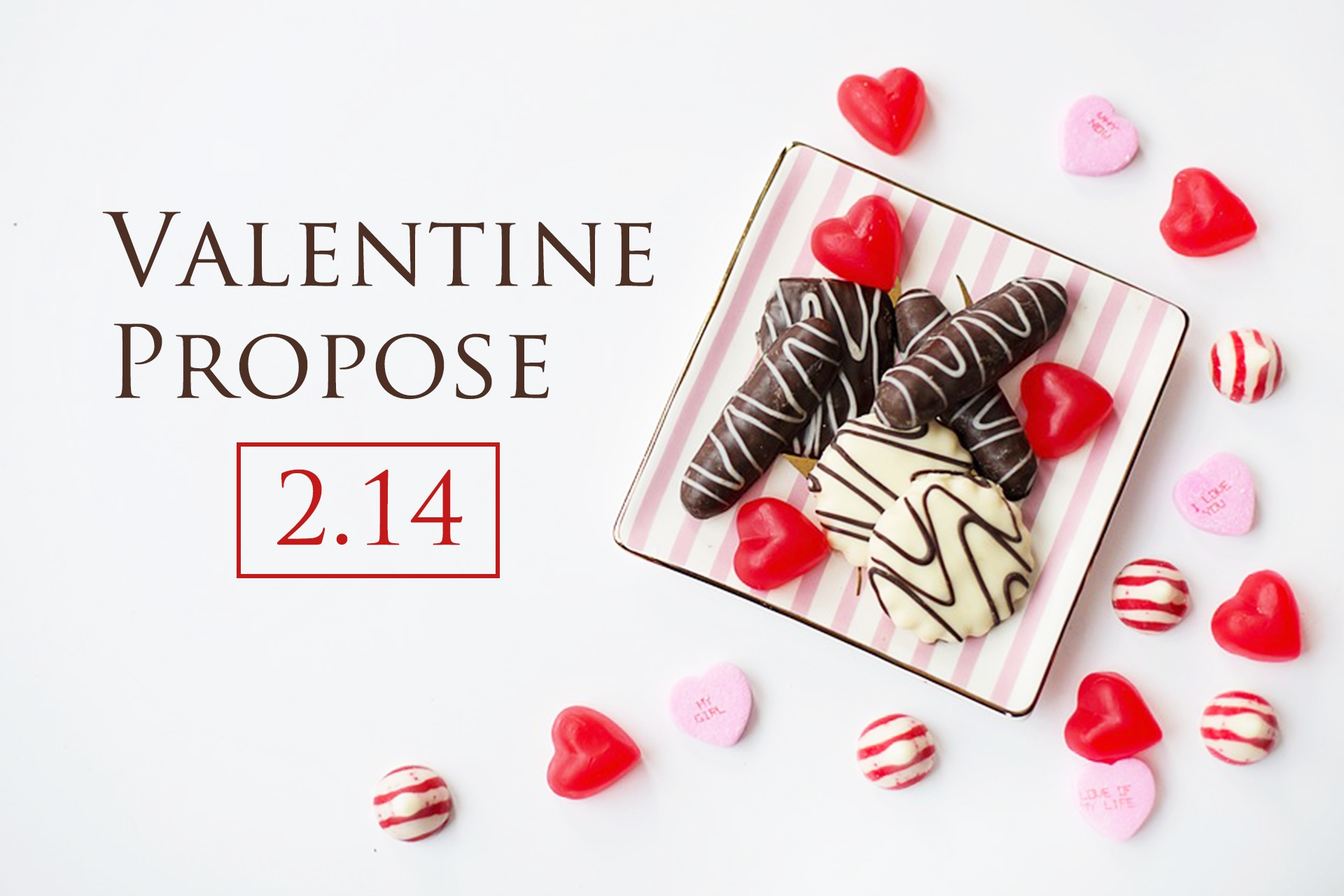 バレンタインデーにプロポーズで彼女にサプライズを!