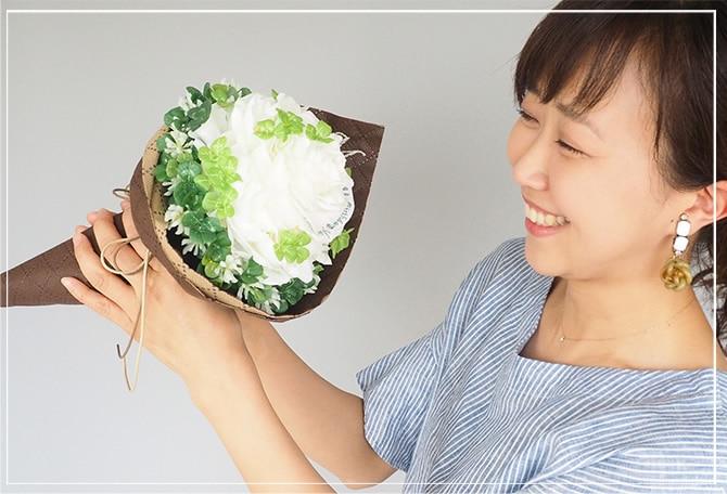 【プロポーズ専用】幸せの四つ葉のクローバーの花束