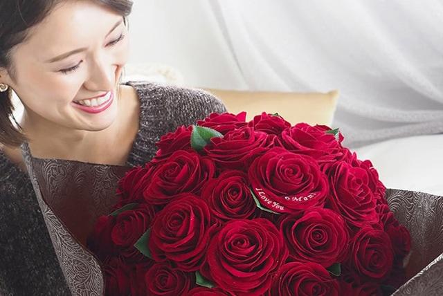 36本のバラの花束