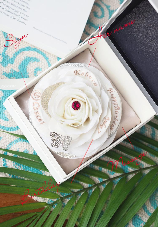 白いバラの花びらには彼女のすべてを刺繍します