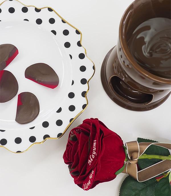 ハンドメイドで作るチョコレートローズ