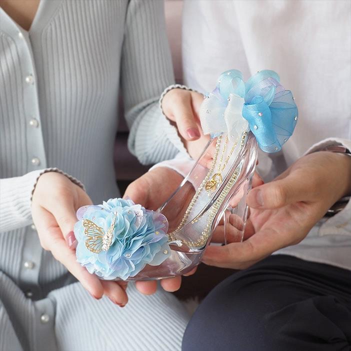 女性をプリンセスにする「ガラスの靴」プロポーズ