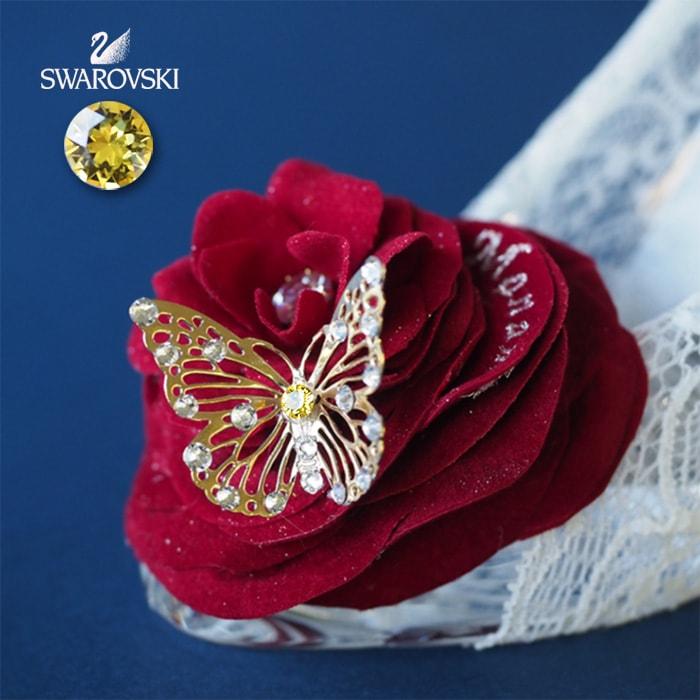 シンデレラのガラスの靴 プリンセスローズ