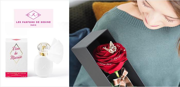 赤バラの香り演出