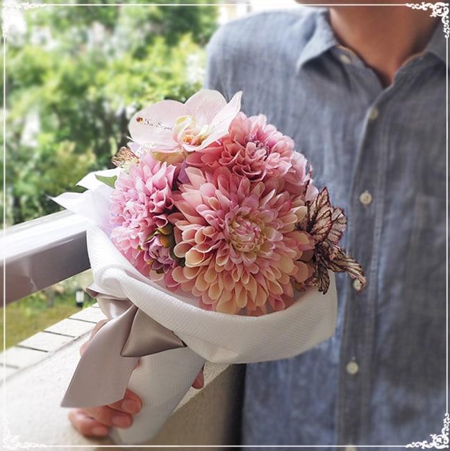 枯れない花束 サプライズポイント