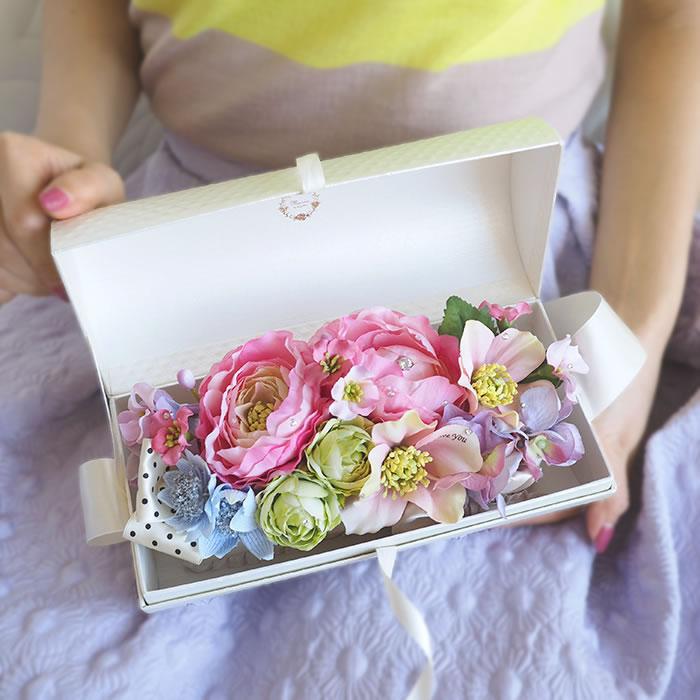 フラワーバッグ 花束のサプライズ