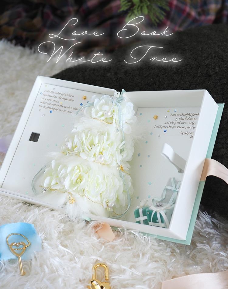 Love Book White Tree