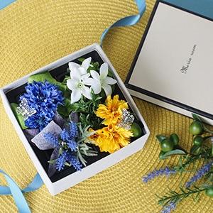 【誕生日・記念日】桜のボックスアレンジメント SAKURA BOX GIFT(持ち運び袋付き)