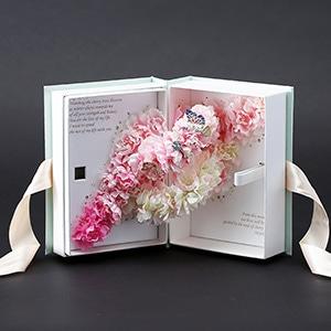 ラブブック-桜・Sakura-春限定デザイン(持ち運び袋付き)
