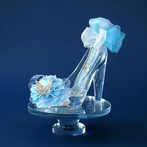 特別版【シンデレラのガラスの靴】プリンセスブルー