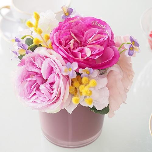 【誕生日・記念日】メッセージフラワーアレンジメント紫陽花(アジサイ)