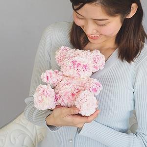 108輪の桜ピンクベアー