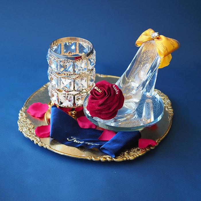 【プロポーズ・シンデレラのガラスの靴】桜ピンク(リボン付きボックス入り)