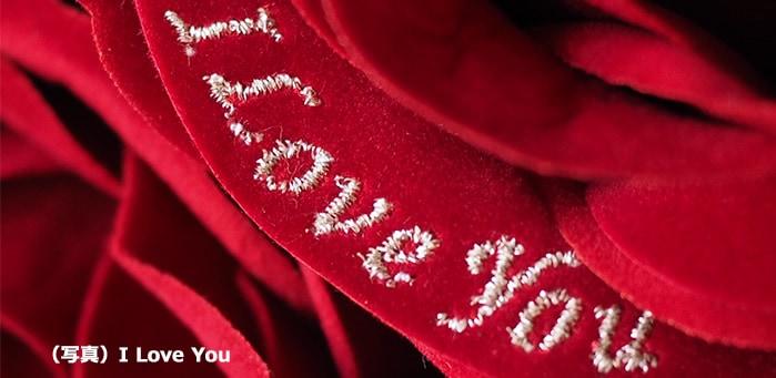 例)I Love You